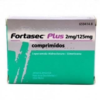 FORTASEC PLUS 2 mg/125 mg 12 COMPRIMIDOS