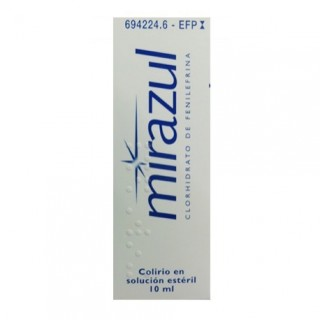 MIRAZUL 1,25 mg/ml COLIRIO EN SOLUCION 1 FRASCO 10 ml