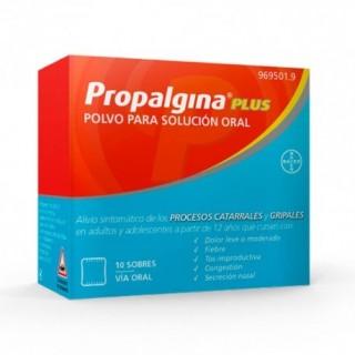 PROPALGINA PLUS 10 SOBRES POLVO PARA SOLUCION ORAL