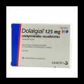 DOLALGIAL CLONIXINO LISINA 125 MG 20 COMPRIMIDOS RECUBIERTOS