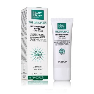 MARTIDERM PROTEOS SCREEN SPF50+ FLUID CREAM 40 ML