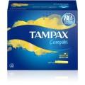TAMPAX COMPAK REGULAR 22 TAMPONES FRESH