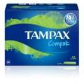 TAMPAX COMPAK SUPER 22 TAMPONES FRESH
