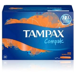 TAMPAX COMPAK SUPERPLUS 22 TAMPONES
