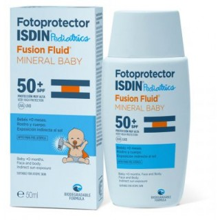 ISDIN FOTOPROTECTOR SPF-50+ FUSION FLUID MINERAL