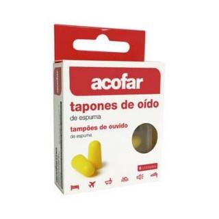 ACOFAR TAPONES OIDOS ESPUMA 6 U