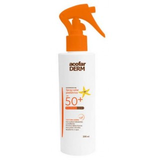 ACOFARDERM SPF 50+ SPRAY SOLAR PEDIATRICO 200 ML