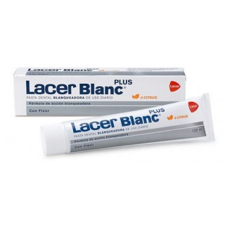 LACERBLANC PLUS PASTA DENTAL CITRUS 125 ML