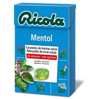 RICOLA CARAMELO MENTOL SIN AZUCAR 50 G