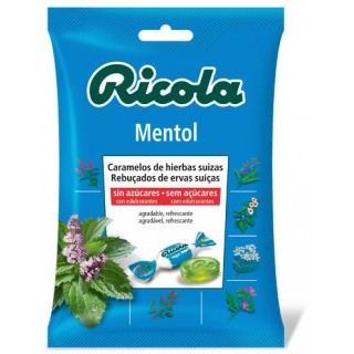 RICOLA BOLSA CARAMELOS MENTOL SIN AZUCAR 70 G