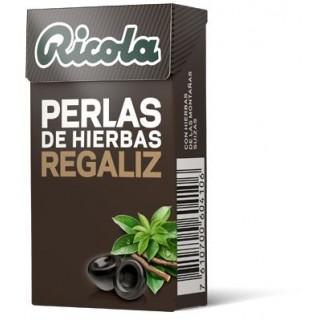 RICOLA PERLAS REGALIZ SIN AZUCAR 25 G