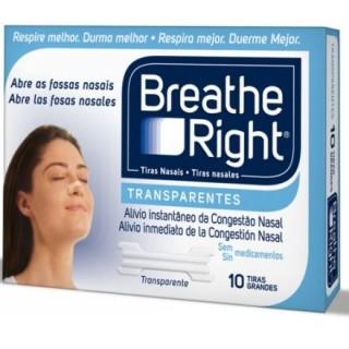 BREATHE RIGHT TRANSP GDE 10 U