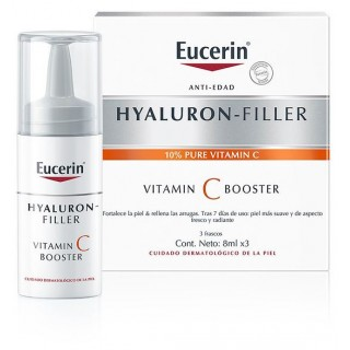 EUCERIN HYALURON FILLER VITAMINA C BOOSTER 3 X 8 ML
