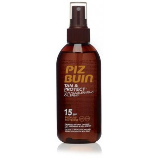 PIZ BUIN TAN & PROTECT FPS-15 OIL SPRAY 150 ML