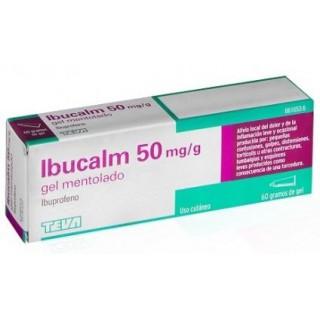 IBUCALM 50 mg/g GEL CUTANEO MENTOLADO 1 TUBO 60 g