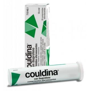 COULDINA CON IBUPROFENO 400 mg/2 mg/7,5 mg 20 COMPRIMIDOS EFERVESCENTES