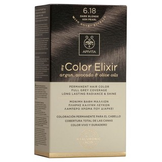APIVITA NATURES HAIR COLOR 6.18