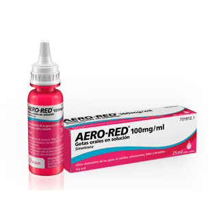 AERO RED 100 mg/ml GOTAS ORALES EN SOLUCION 1 FRASCO 25 ml