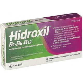 HIDROXIL B1-B6-B12 30 COMPRIMIDOS RECUBIERTOS