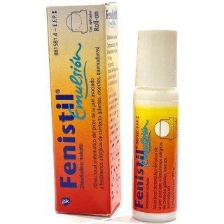 FENISTIL EMULSION CUTANEA 1 FRASCO ROLL-ON 8 ml
