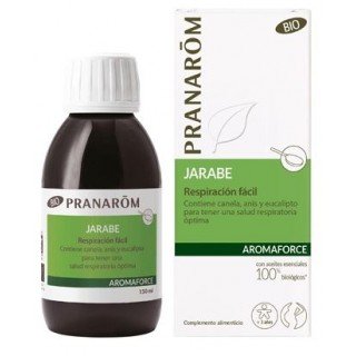 PRANAROM AROMAFORCE JARABE RESPIRACION FACIL 150 ML