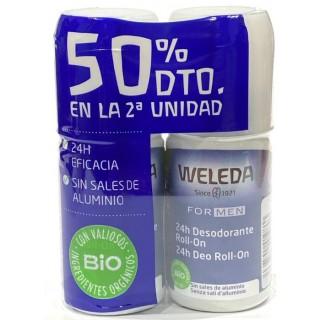 WELEDA DESODORANTE FOR MEN 50 ML DUPLO