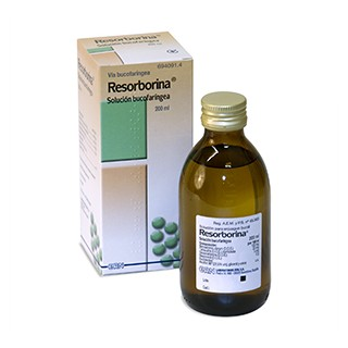 RESORBORINA SOLUCION BUCAL 1 FRASCO 200 ml
