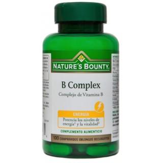 NATURES BOUNTY B COMPLEX 100 COMPRIMIDOS