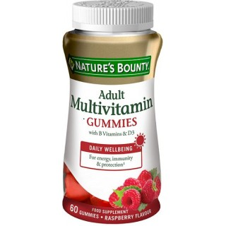NATURES BOUNTY MULTIVITAMINICO ADULTOS 60 GOMINOLAS