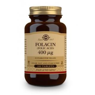 SOLGAR FOLACIN (ACIDO FOLICO) 400MCG 100 COMPRIMIDOS