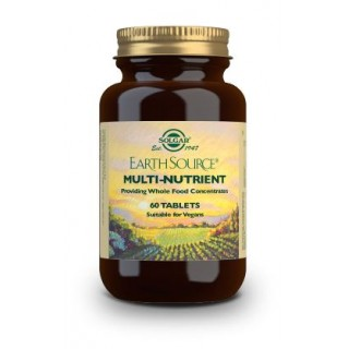 SOLGAR EARTH SOURCE (MULTIVITAMINICO Y MINERAL) 60 COMPRIMIDOS