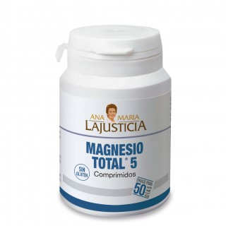 MAGNESIO TOTAL 5 SALES ANA MARIA LAJUSTICIA 100 COMPRIMIDOS