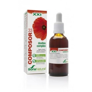 COMPOSOR 33 DOXITOS COMPLEX SORIA NATURAL 45 ML