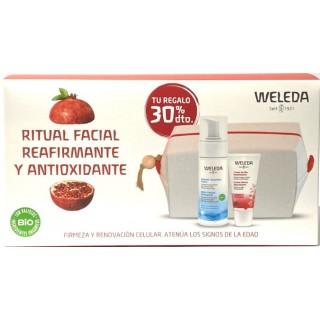 WELEDA PACK CREMA DE DIA REAFIRMANTE GRANADA 30 ML+ESPUMA LIMPIADORA SUAVE 150 ML