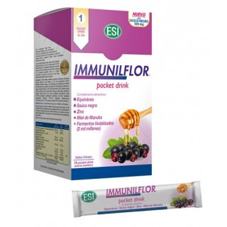 IMMUNILFLOR POCKET DRINK 16 SOBRES BEBIBLES 20 ML