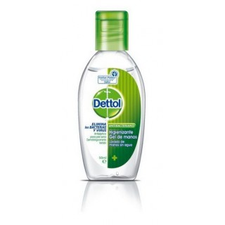 GEL HIDROALCOHOLICO DETTOL 1 FRASCO 50 ML