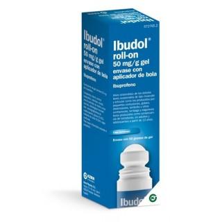 IBUDOL ROLL-ON 50 mg/g GEL CUTANEO 1 TUBO CON APLICADOR DE BOLA 60 g