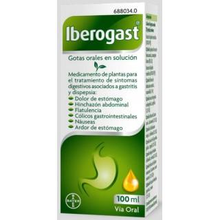 IBEROGAST GOTAS ORALES EN SOLUCION 1 FRASCO 100 ml