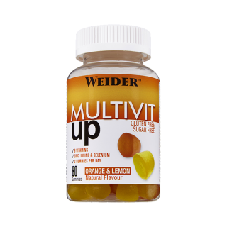 WEIDER MULTIVIT UP 80 GOMINOLAS