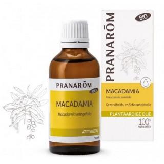 PRANAROM ACEITE VEGETAL DE MACADAMIA BIO 50 ML