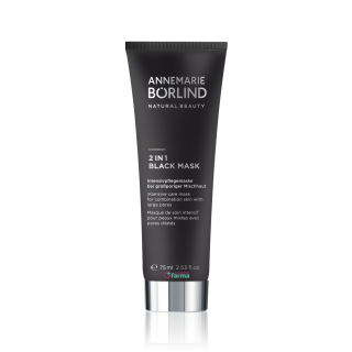 ANNEMARIE BORLIND 2 EN 1 BLACK MASK MASCARILLA PURIFICANTE 75 ML