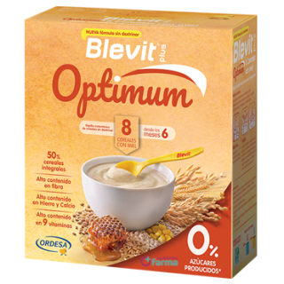 BLEVIT PLUS OPTIMUM 8 CEREALES MIEL 400 G
