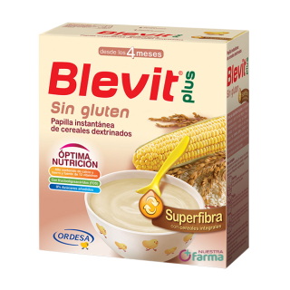 BLEVIT PLUS SUPERFIBRA SIN GLUTEN 600 G
