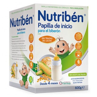 NUTRIBEN INICIO AL BIBERON 600 G