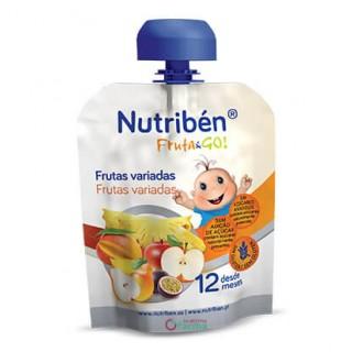 NUTRIBEN FRUTA & GO FRUTAS VARIADAS 90 G