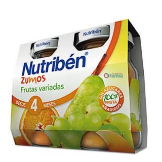 NUTRIBEN ZUMO FRUTAS VARIADAS 2 X 130 ML