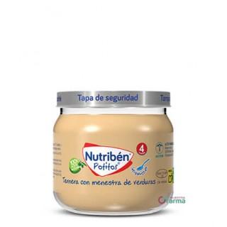 NUTRIBEN POTITO INICIO A LA CARNE TERNERA CON MENESTRA DE VERDURAS 120 G
