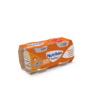 NUTRIBEN POTITO MANZANA, NARANJA, PLATANO Y PERA 2 X 120 G