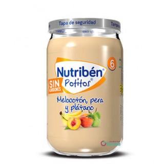 NUTRIBEN POTITO MELOCOTON, PERA Y PLATANO 235 G