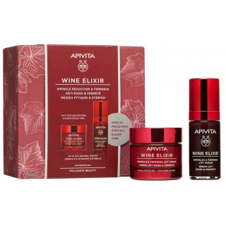 APIVITA PACK CREMA WINE ELIXIR RICH TEXTURE 50ML+ SERUM  WINE ELIXIR 30ML REGALO
